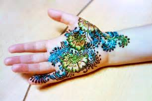 colorful henna henna flowers color designs henna gallery