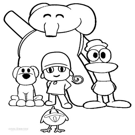 pocoyo coloring pages pdf best pocoyo pato coloring pages pictures inspiration