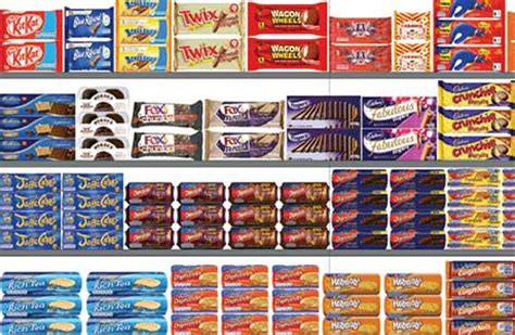 Shelf Of Biscuits by Power Category Offering More Scottish Grocer