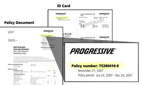 Florida Automobile Insurance Identification Card Template by Forgot Your Password