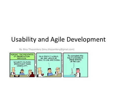 usability agile development