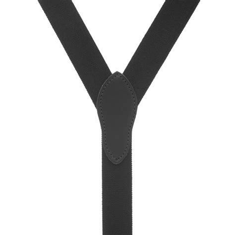 comfortable suspenders black rugged comfort button suspenders suspenderstore