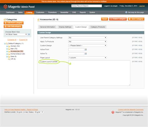 xml layout handle magento getting familiar with magento callout blocks