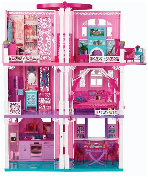 Barbie Dream House Doll House Toys Girls Doll Accessories Ebay