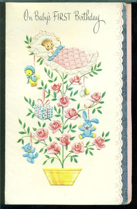 1000 images about retro vintage greeting cards on vintage 1957 greeting card on babys birthday