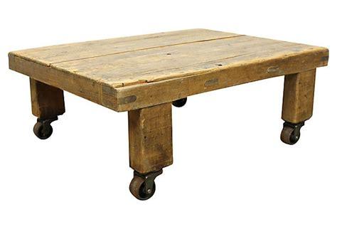 Trolley Cart Coffee Table