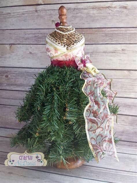 hometalk dress form christmas tree mini