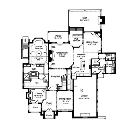 french chateau floor plans chateau luxe country french home plan 065s 0033 house