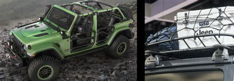 jeep calendar 2017 accessories of the all new 2018 jeep wrangler at sema 2017