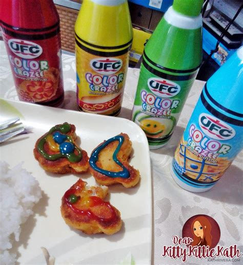 colored ketchup ufc color crazee catsup for more and colorful family