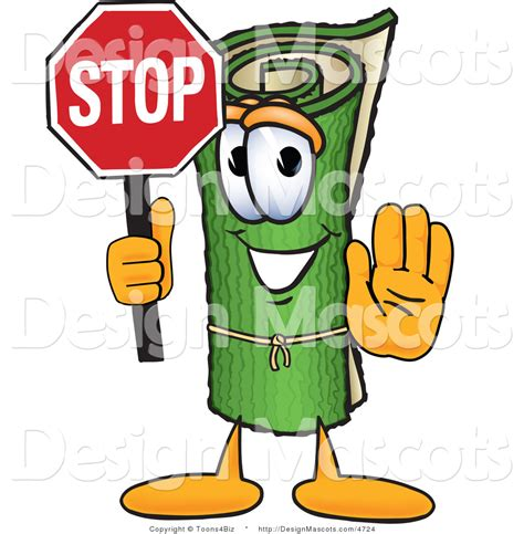 stop sign rug royalty free rug stock mascot designs