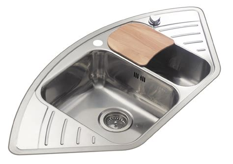 stainless steel corner sink reginox stainless steel corner kitchen sink rl210s gt ebay