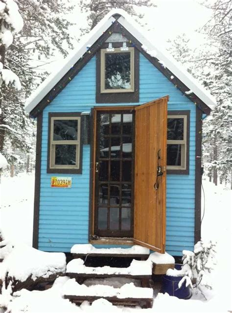 tiny houses for rent colorado tiny blue house tiny house for rent in nederland
