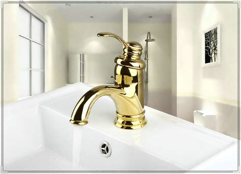 bathroom basin taps single hole ti pvd bathroom faucet gold color single handle sink mixer