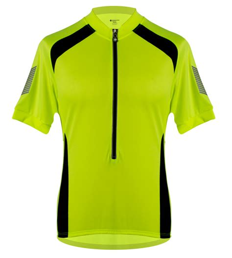 mens cycling men s elite cycling jersey 3m reflective high vis royal