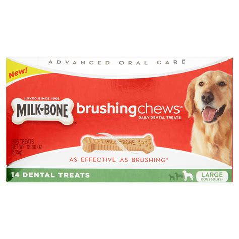 are milk bones bad for dogs milk bone original biscuits and brushing chews for large