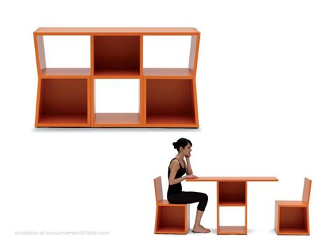 italian multifunctional furniture living in a shoebox