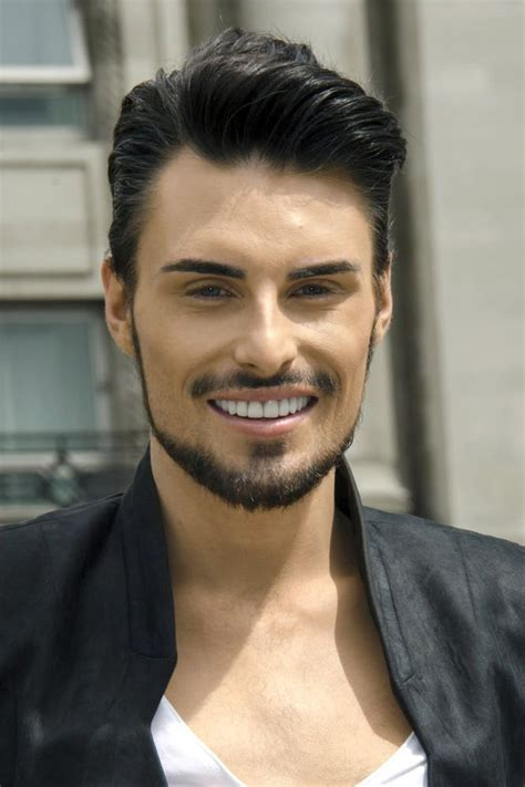 great hair on rylan clark at the quot fur free and proud quot peta