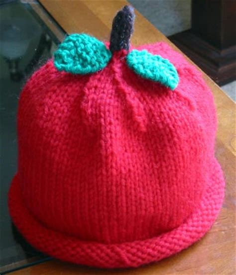 knitted apple pattern an apple for the knit crochet free patterns