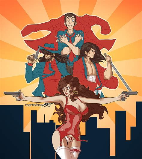 lupin the third lupin the third by mortinfamiart on deviantart