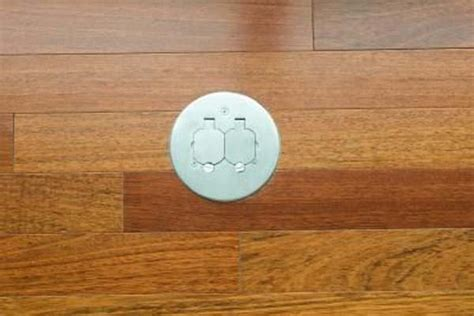 Hardwood Floor Outlet Electricity How To Install Electrical Outlet Instaled On The Floor How To Install Electrical