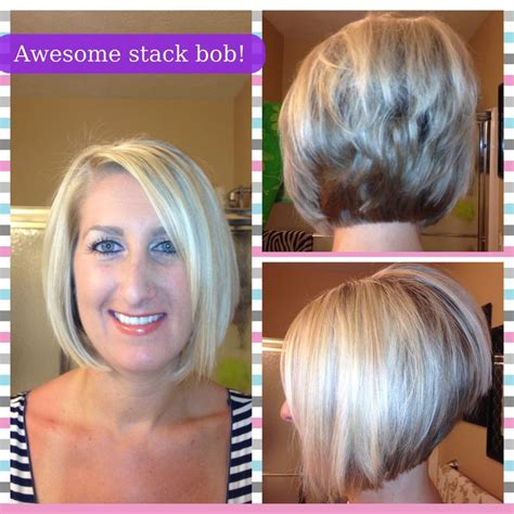 high angled stacked bob 123 best images about hair ideas colors on pinterest
