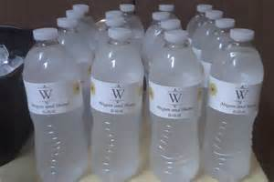 free editable water bottle labels search results