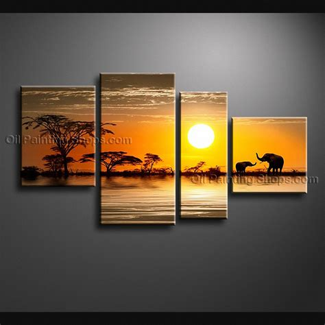 Handmade Wall Ideas - handmade large contemporary wall landscape painting