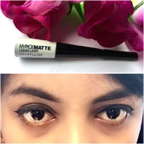 Maybelline Hyper Matte Liner maybelline hyper matte liquid liner review swatches