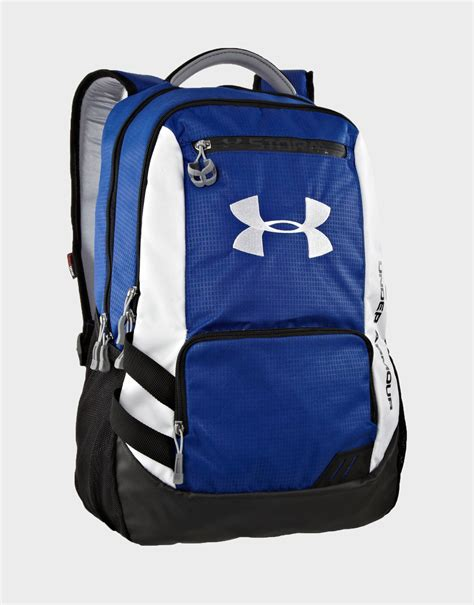 ua storm hustle backpack by under armour colour royal