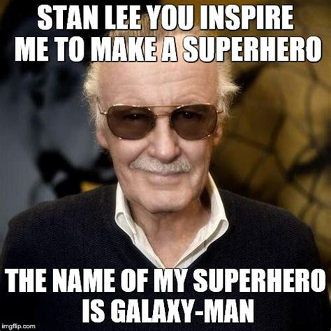 Stan Meme - stan lee aprovle imgflip