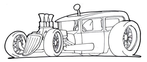 printable coloring pages rods free drawing page of a rod car to print and color for
