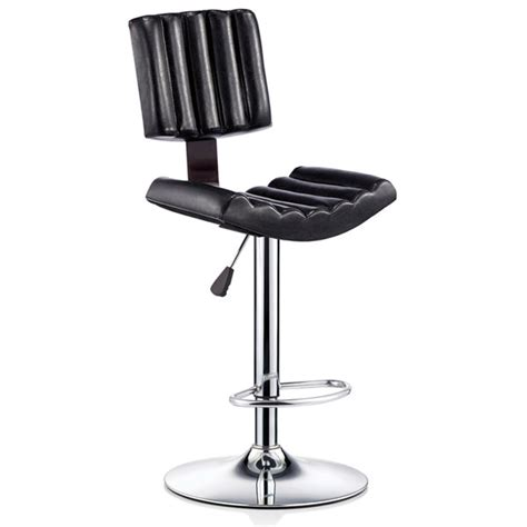 Luxury Bar Stools Sale by Luxury Black Leather Kitchen Bar Stools Chairs For