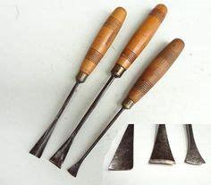 ten carving chisels  herring bros  wwwtheoldtoolshed