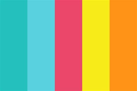 Colour Scheme by Colorful Summer Color Palette