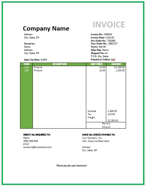 template 8 medical billing invoice template free sample travel bill
