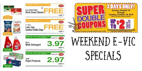 printable grocery coupons harris teeter harris teeter deals weekend e vic specials 10 14 10 18