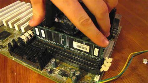 ram stick how to install a ram stick tutorial assembling a