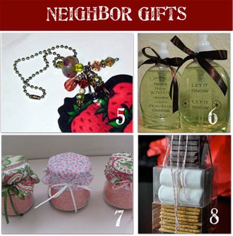 Small Handmade Gift Ideas - 24 gifts for neighbors tip junkie