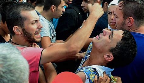 Entire muslim communities threatening christians in refugee camps