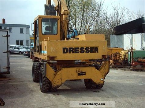 Dresser Heavy Equipment by Dresser W 625 E 1988 Mobile Digger Construction Equipment