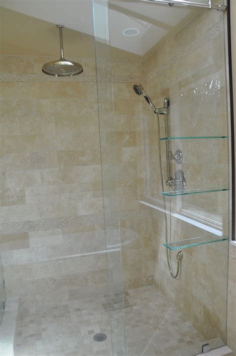 Floating Shower Shelf by Marvelous Floating Glass Shelves Look Other Metro