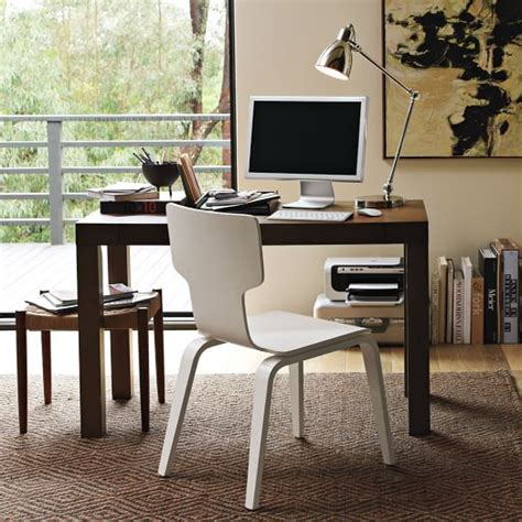 West Elm Parson Desk by Parsons Desk Chocolate West Elm