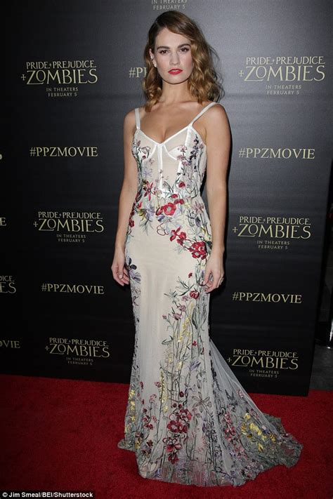 Elizabeth Dress Lyly wows in floral gown at pride and prejudice and