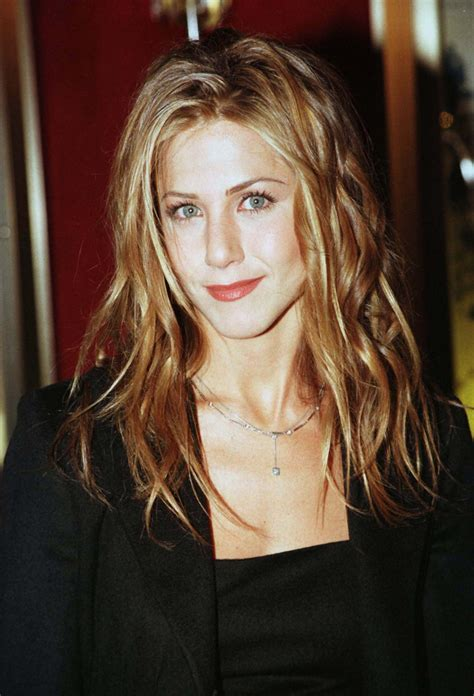 2000 from jennifer aniston s hair through the years jennifer aniston through the ages friends star s