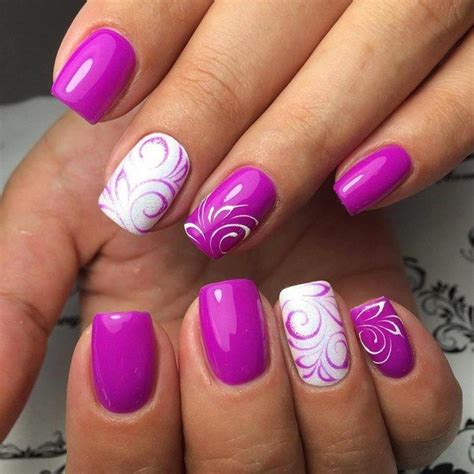 Nail Images by Best 25 Swirl Nail Ideas On White Tip