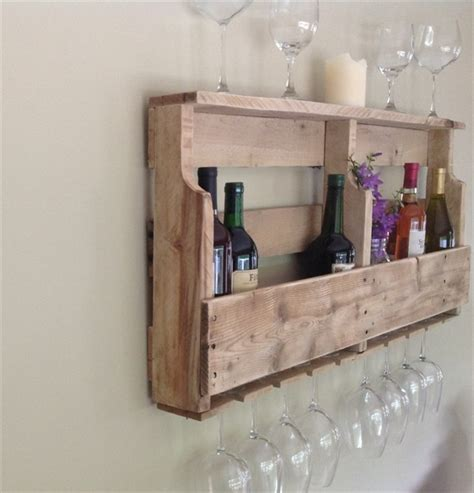 How To Build A Wine Rack Shelf by Diy Pallet Wine Rack Shelf Wooden Pallet Furniture