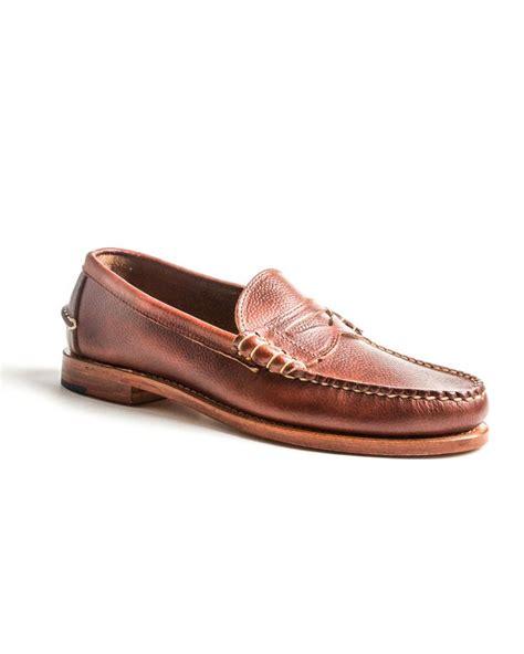 rancourt loafer rancourt co scotch grain loafer style profile