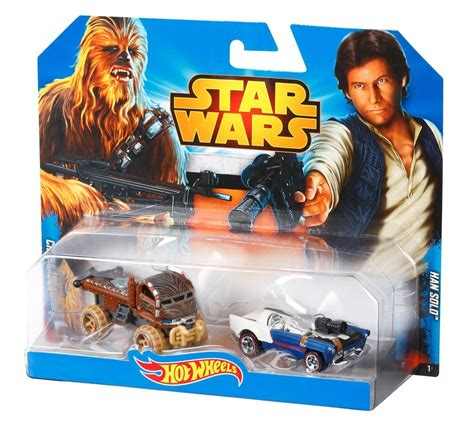 Diecast Wheels Characters Wars Chewbacca wheels wars diecast cars 2 pack chewbacca han