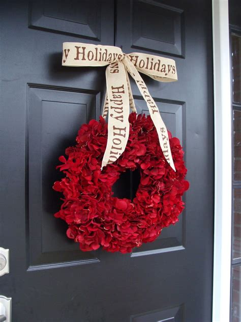 wreath for front door splendid outdoor accessories for christmas celebration